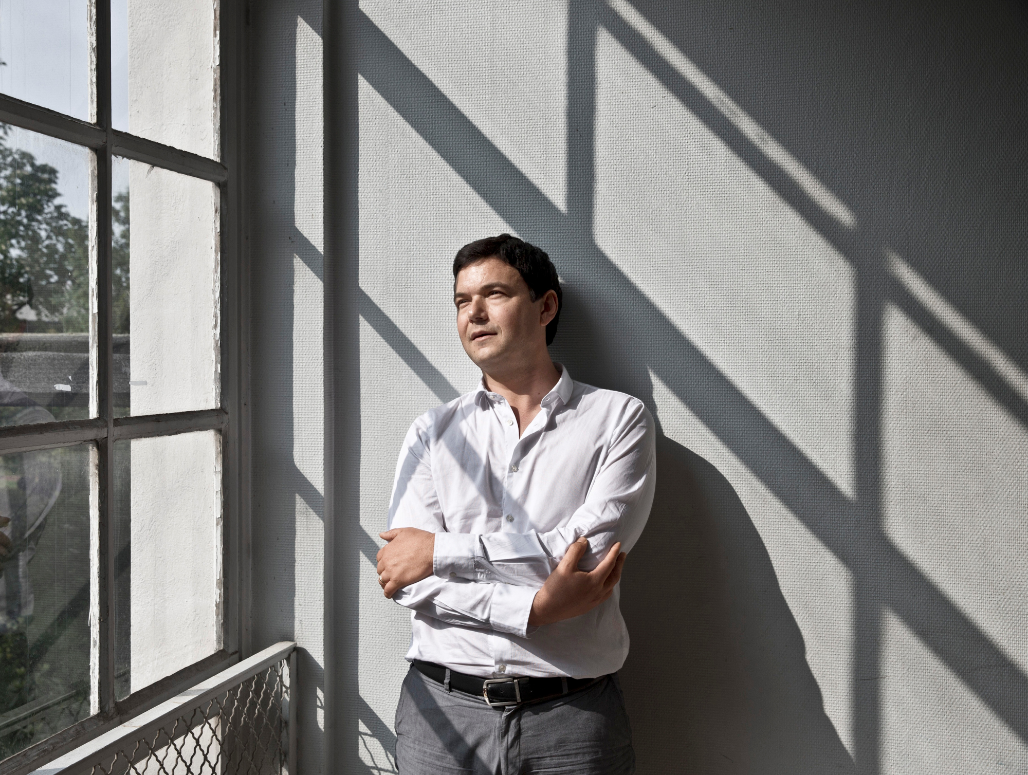 Thomas Piketty, at the Paris School of Economics.
